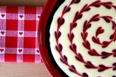Cranberry-Lemon-Cheesecake